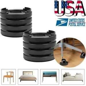 8pcs Adjust Heavy Duty Furniture Stopper Sofa Bed Table Chair Stopper Legs Lift