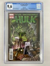 Incredible Hulk #2 (2012) CGC 9.6 Iron Man 129 Homage RARE & HTF! Marvel Comics!