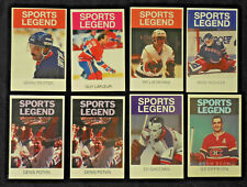 1989-05 Hockey Sports Legend CARDS U PICK Geoffrion LaFleur Trottier Giacomin