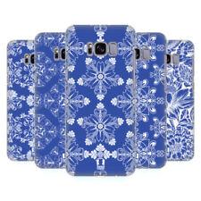 Cover e custodie Blu modello Per Samsung Galaxy S8 con un motivo, stampa per cellulari e palmari