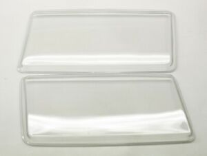 DHL Mercedes W201 190D/E82-93 Polycarbonate Headlight Covers for retrofit, pair.