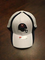 NWT University of Virginia UVA Cavaliers Football Helmet Nike Small Medium Hat