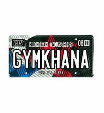 Officiel Hoonigan Travis Pastrana Gymkhana Star Plaque Immatriculation