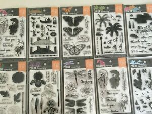 Hero Arts Color Layering Clear Stamps 4''X6'' Set YOU PICK NEW