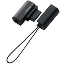 DOCOMO FOMA HEADPHONE ADAPTER 3.5mm FOR PHONES - BLACK - MPA-CA1/00BK