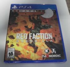 Red Faction Guerrilla Remastered (Sony PlayStation 4,2018) NEW SEALED FAST ! PS4