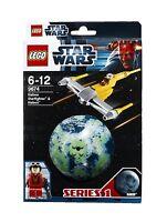 LEGO Star Wars 9674 Naboo Starfighter Raumschiff Pilot Naboo Planet Kugel