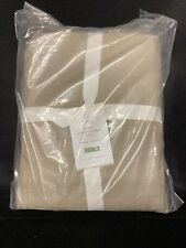"Pottery Barn Pb Basic Pleated Bedskirt Cal King 18"" Drop Natural New"