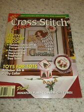 Cross Stitch Plus Magazine 1992 25+ Projects Festive Holiday Decor