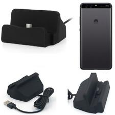 Docking Station per Huawei P10 Plus USB Type C Caricabatterie nera cavo Dock