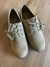 Lands End Boys Size 4 Youth Suede Dress Shoes New