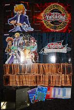 Yugioh Mega Lot: 600+ No Dups Cards + 4 Gameboards & Playmats + 1 Tin duplicates
