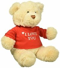 Gund I Love You Bear Single - Colors Will Vary