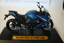 Suzuki GSX - S  1000 F ABS blau-  1:18 Motor Max