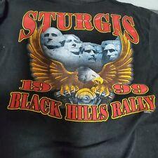 Sturgis Black Hills Rally Tshirt 1999 Vintage size M