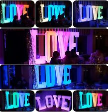 MR ❤ MRS 4' LED GLOW letters HIRE