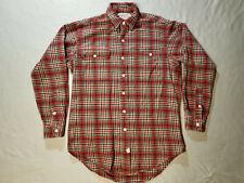 Polo Ralph Lauren Authentic Dungarees Plaid Button Down Shirt Mens Sz S Check