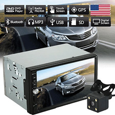 """2Din Hd 7"""" Touch Scree Car Stereo Mp5 Mp3 Player Radio Bluetooth Usb Aux +Camera"""