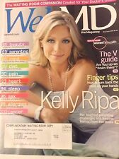 Web MD Magazine Kelly Ripa The V Guide May/June 2008 081317nonrh