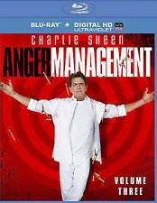 Anger Management, Volume 3, Charlie Sheen, 2 Blu-rays, FREE SHIPPING, SEALED