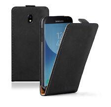Cover custodia magnetica in pelle per Samsung Galaxy J3 2017