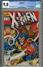 X-Men #4 CGC 9.8 NM/MT 1st Appearance of Omega Red WHITE PAGES