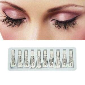 10pcs Adhesive Strong Eyelash Glue False Eyelash Accessories Waterproof (L60)