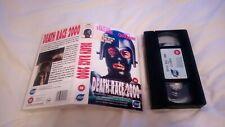 DEATH RACE 2000 VHS TAPE