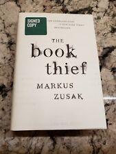 MARKUS ZUSAK THE Book Thief 10th ANNIVERSARY SIGNED 1st NEW UNREAD