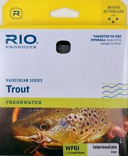 Rio Mainstream Intermediate Trout Fly Line WF6I Clear FREE SHIPPING 6-21215