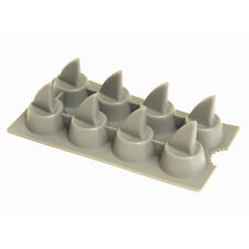 Epicurean Flexible Silicone Shark Fin Tray Mould Shark Ice Cubes Chocolate Mould