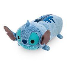 "Disney Store Usa Tsum Tsum Stitch Plush Pencil Case 8"" *Brand New*"