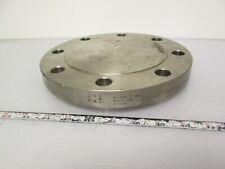 "CMI 4"" Titanium Flange Blank 150PSI Grade 2"