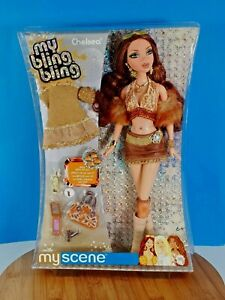 Mattel My Scene Chelsea Doll My Bling Bling With Ring For You Gift Set New