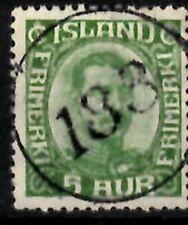 Iceland Number cancel #183 used in Vidvik