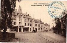 CPA  Audincourt (Doubs)  - La Grande-Rue et la Mairie  (183176)