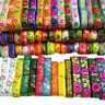 7 Yards Vintage Embroidered Trim Jacquard Lace Ribbon Edge Trimmings Costume Sew