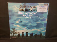Blues Dimension B.D. Is Dead, Long Live B.D. Sealed Blue Vinyl LP Classic Psych