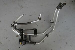 Porsche Cayenne 958 92A 2013 Auxiliary Water Pump + Inner Fender Hoses LHS J138