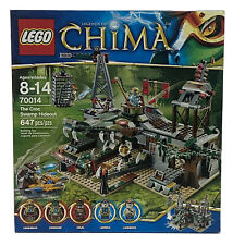 Lego Legends Of Chima 70014 The Croc Swamp Hideout Blocks New Retired Rare 2013
