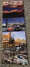 Disney DLR  - Disney California Adventure Cars Land, Set of 4 Postcard Connected