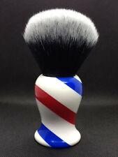 Yaqi 30mm Monster Tuxedo Knot Barber Pole Color Shaving Brush R1734