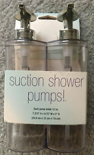 Interdesign Suction Shower Pumps - Pack Of 2 - 12oz Brand New In Package