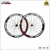 700C Clincher Carbon Fiber 50mm Road Racing Bike Wheels R13 Rim Bicycle Wheelset