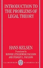 Introduction to the Problems of Legal Theory: A Translation of the First Edition