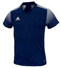 Adidas Youth REGISTA 20 S/S Tee Shirt Run Training Navy Kid Top Jersey FI4561