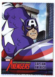 Captain America sample promo trading card - The Avengers - Marvel and Disney