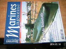 Marines Magazine n°43 Redoutable LCVP Higgins Croiseur Guichen Remor.. Fauvette