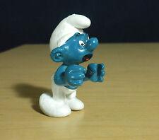 Smurfs Prisoner Super Smurf Jail Cage Vintage Figure Toy PVC Peyo Figurine 40212