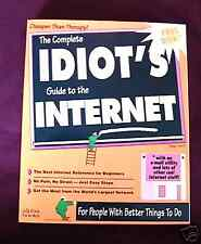 The Complete Idiot's Guide to the Internet NEW WITHDISK